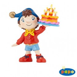 NODDY HOLDING BIRTHDAY CAKE...