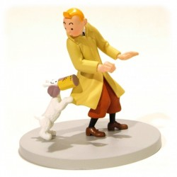 TINTIN - THE CRAB BOX - PVC...